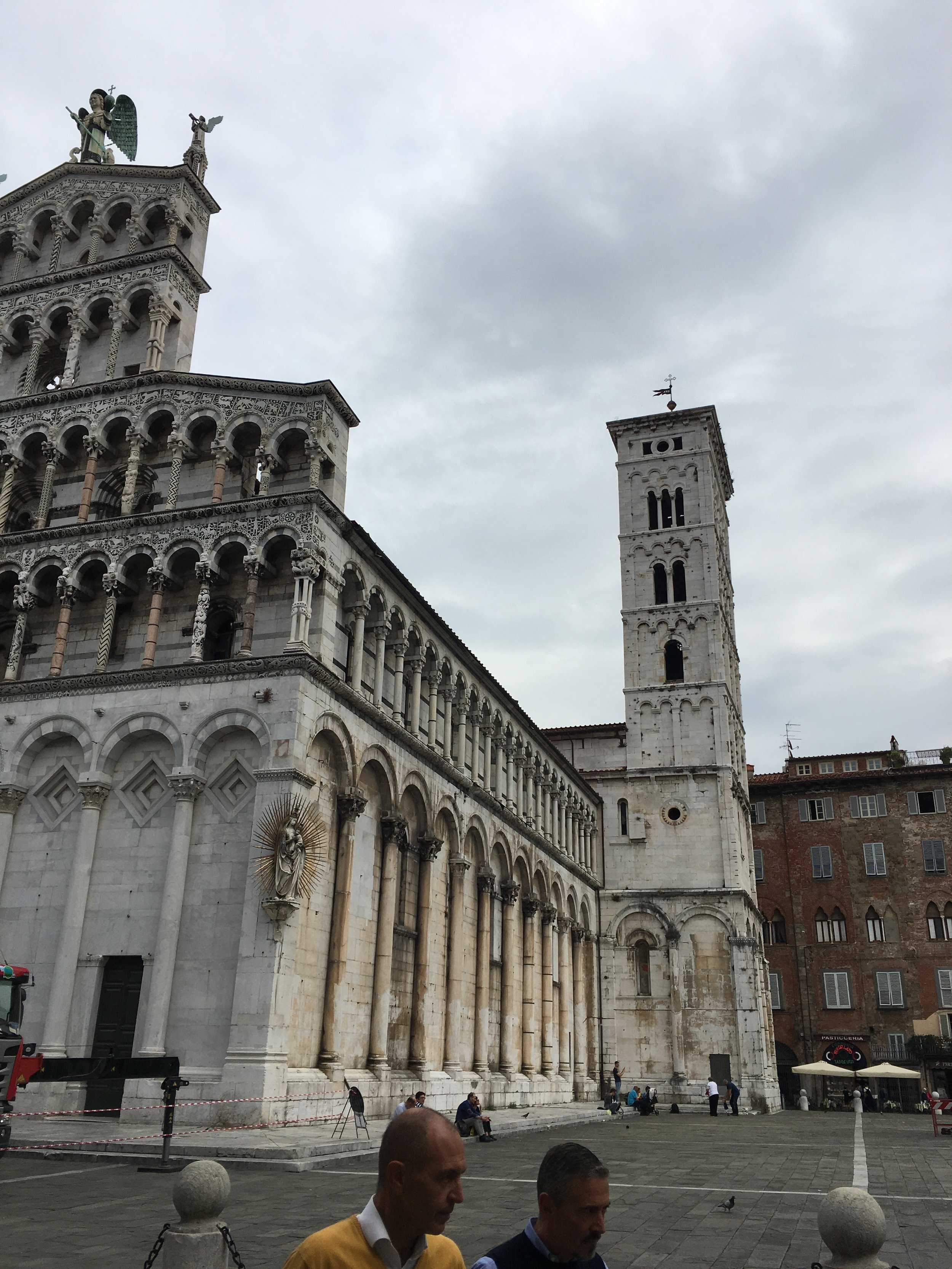 Lucca - Cathedral At the main Square