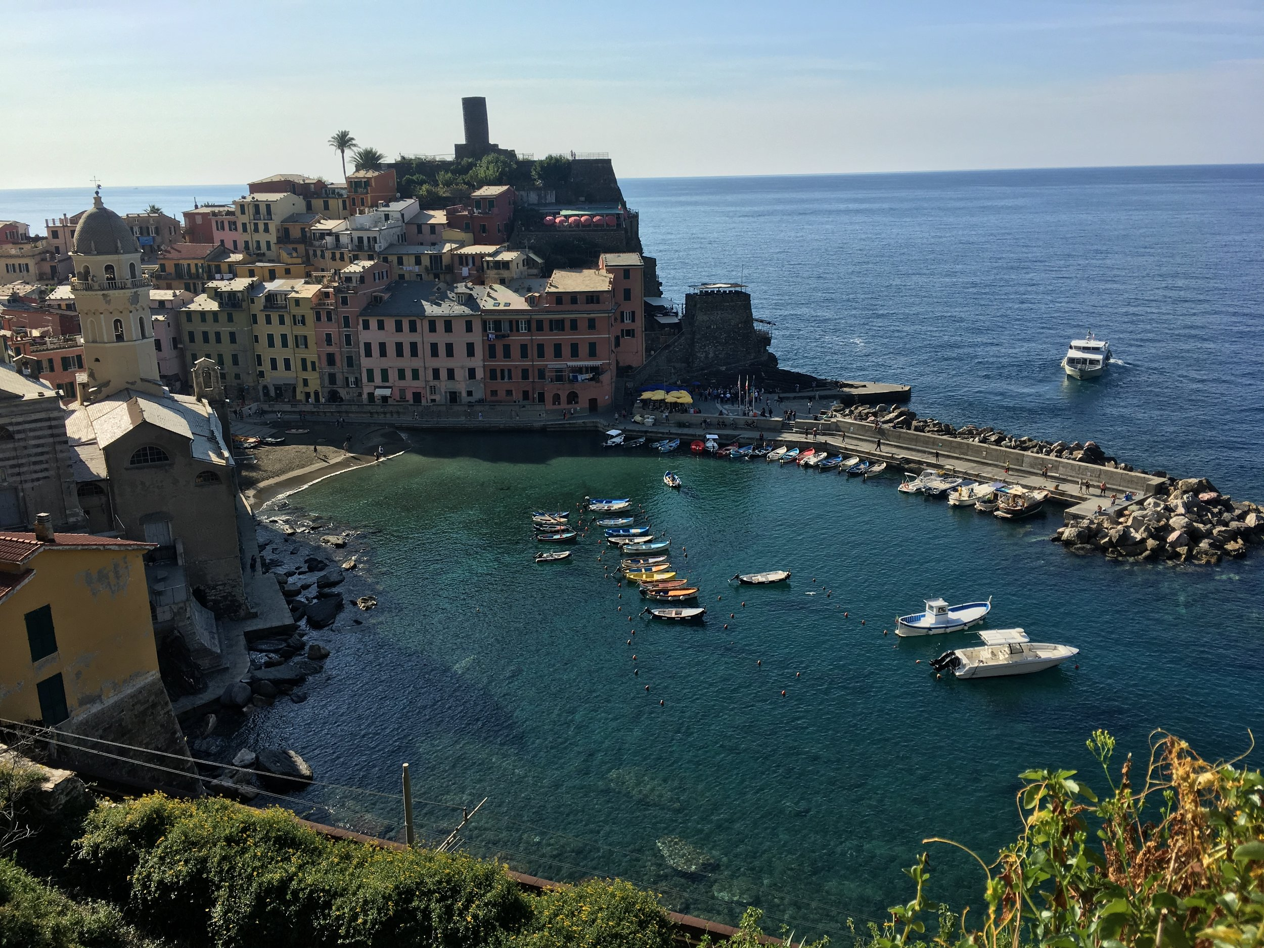 Almost at Vernazza