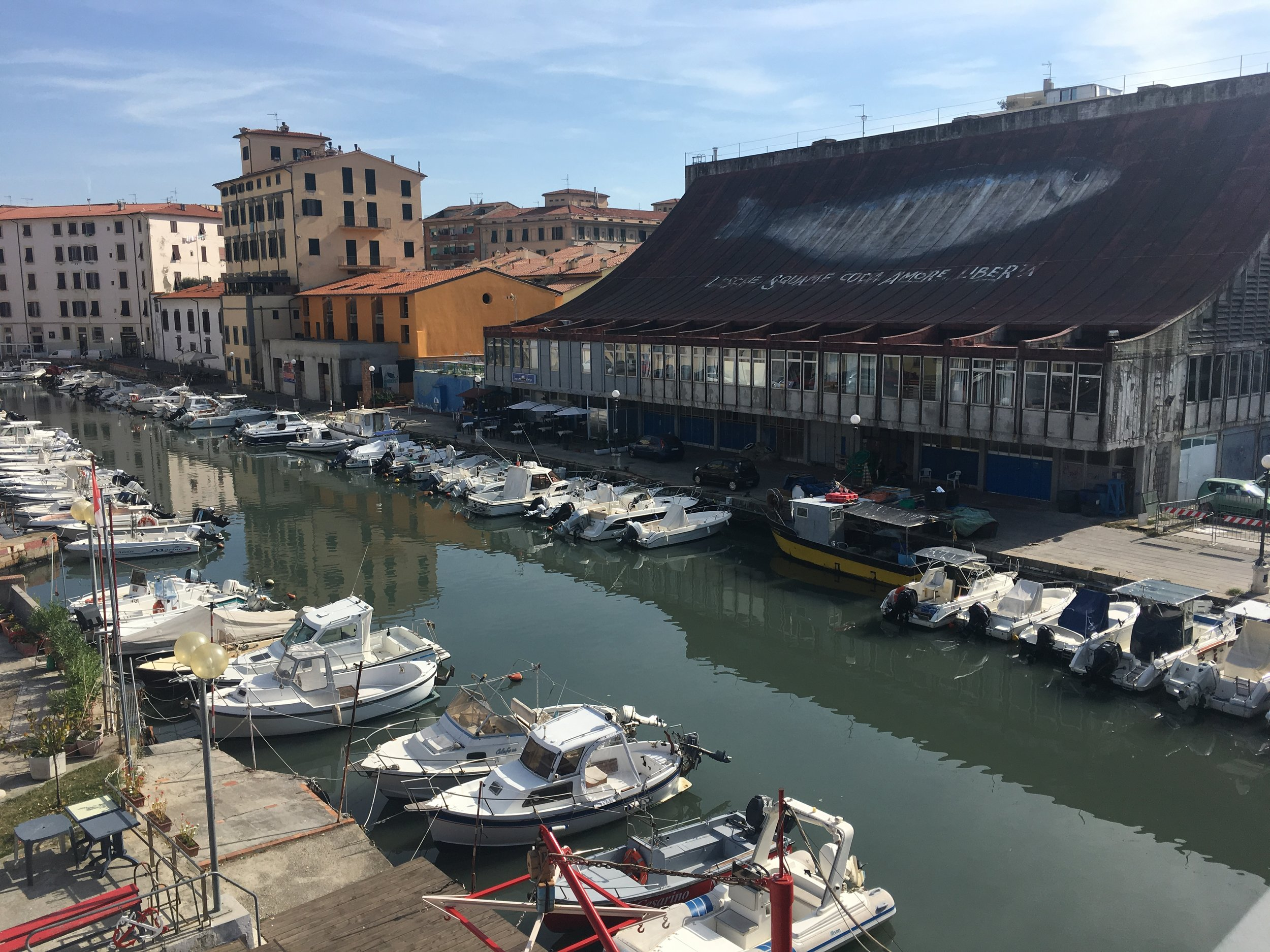 Livorno - looked like an old fish market