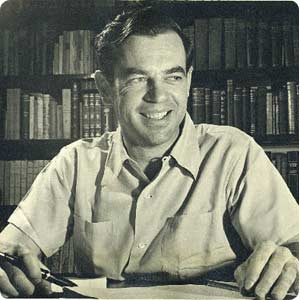 Joseph Campbell as a young man.