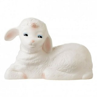 Lamb nursery lamp
