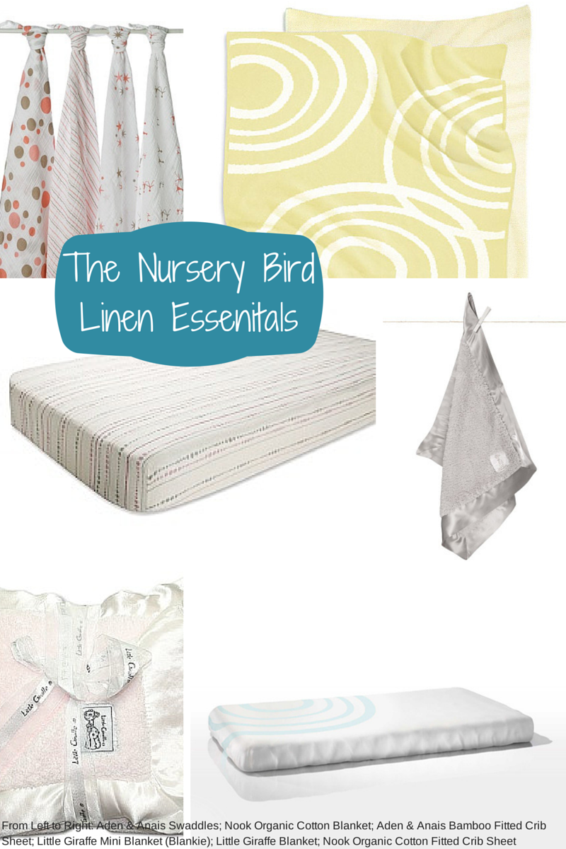 Baby Essentials Checklist Linen for the nursery