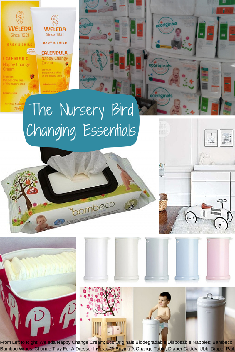 Baby Essentials Checklist Nappy Changing
