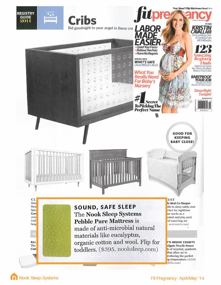Fit Pregnancy Magazine - April/May 2014: The Nook Pebble Pure