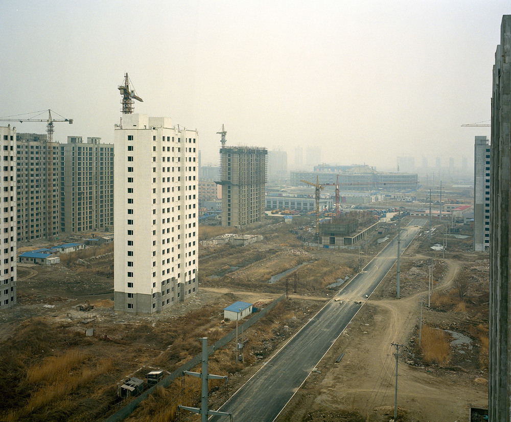 An abandonned housing complex in yingkou China