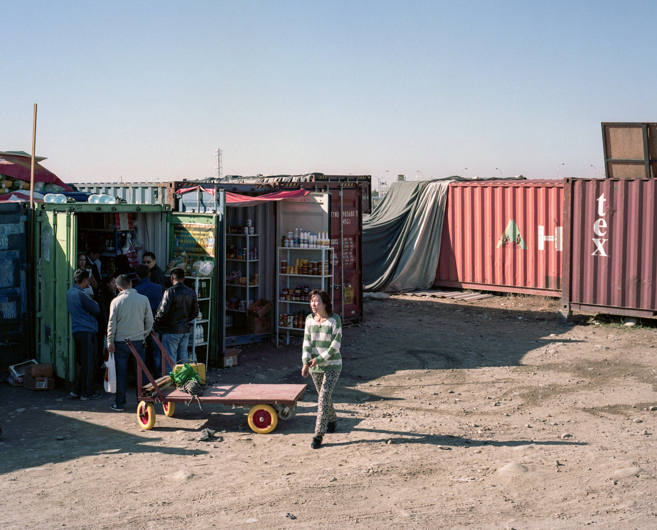 Shops in containers