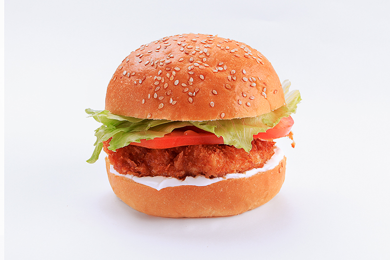 """The Fried Dude"" Chicken Burger"
