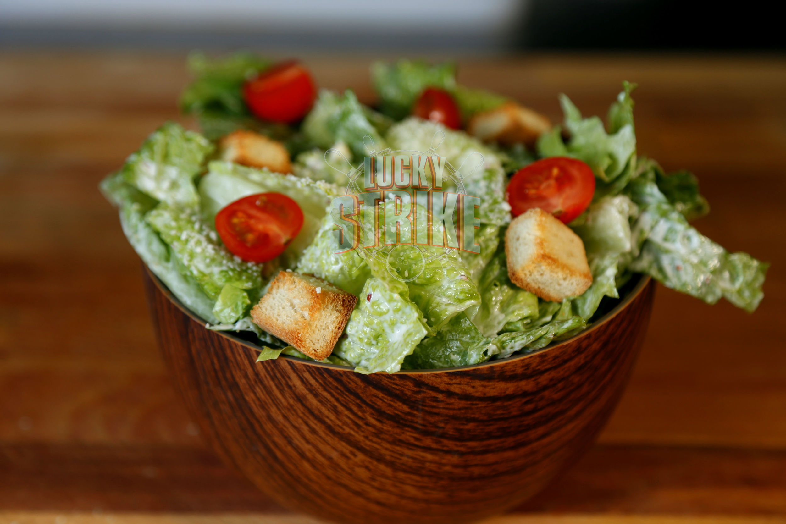 CEASAR SALAD                                                            28   A classic mix of freshly tossed romaine lettuce, parmesan cheese, croutons, cherry tomatoes, house dressing & grilled chicken breast