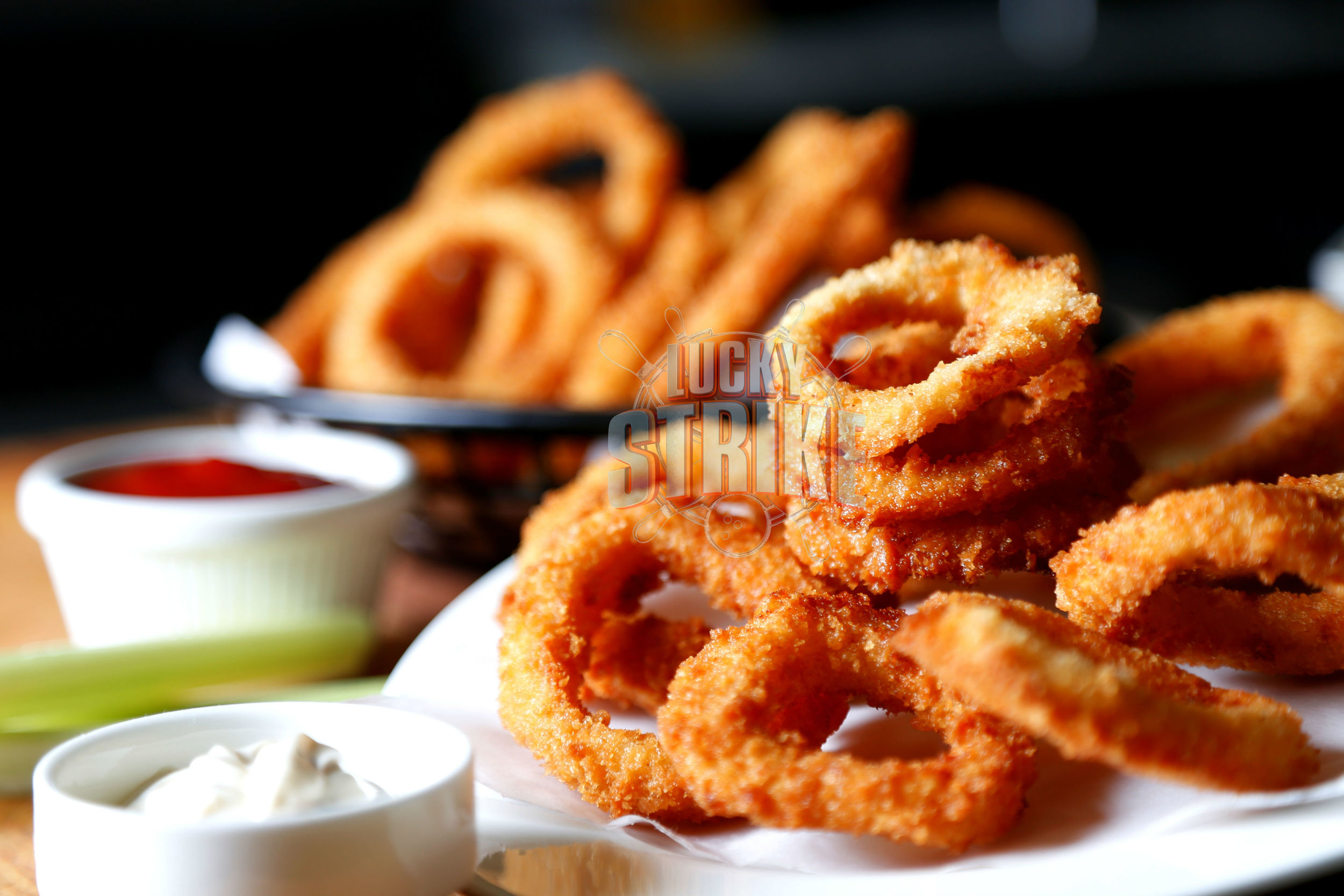 CRISPY FRIED CALAMARI                                          20   The best fried squid, commonly known by the Italias as calamari, crispy on the outside, tender on the inside    ONION RINGS                                                            10