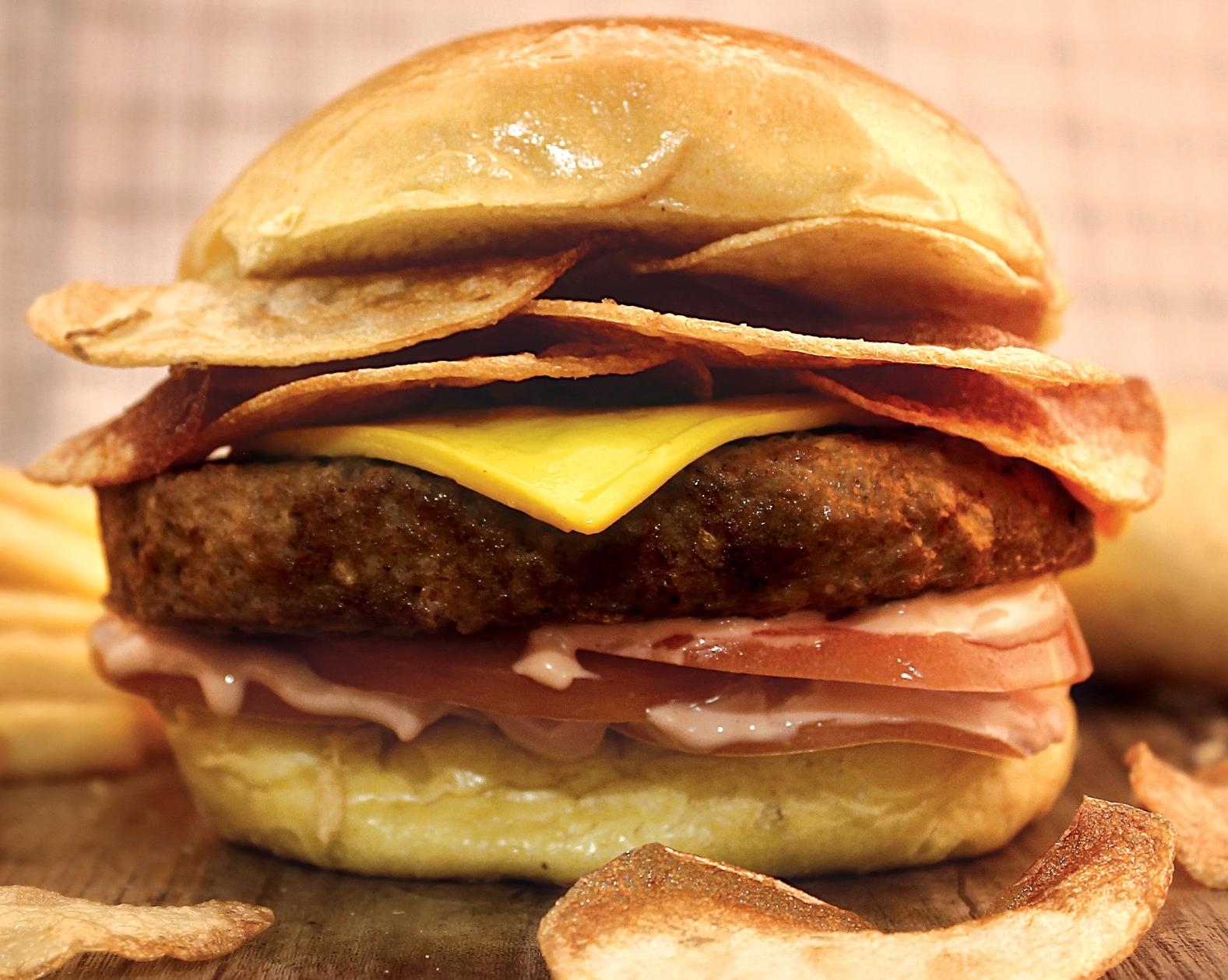 D'BARN BURGER                            39   Prime ANGUS beef patty, swiss cheese, tomato, pickle, potato fridge, stike sauce