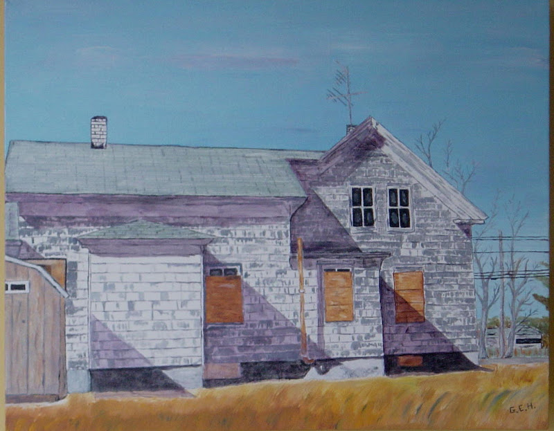 Abandoned Homestead, Andover MA