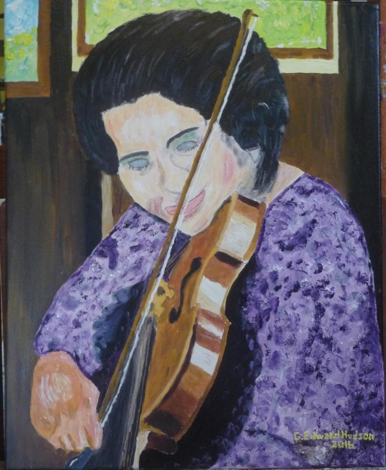 Ranona VI 16 X 20 Inches  Oil on Canvas.JPG
