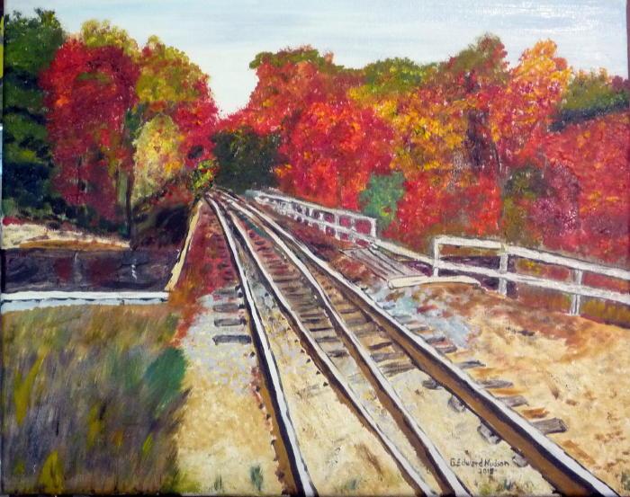 Tilton Crossing Oil On Canvas 16 X 20 Inches November 2015.JPG