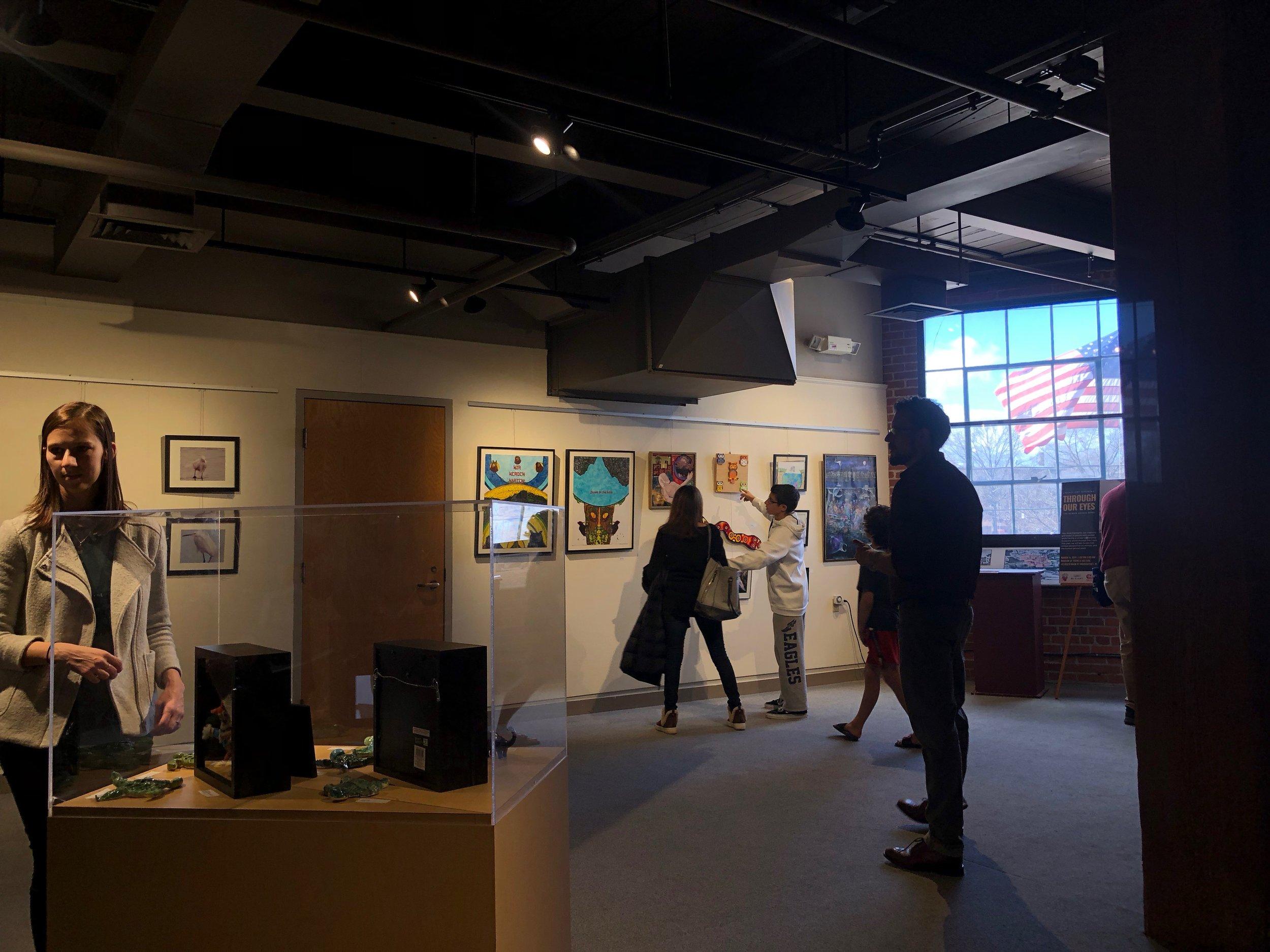 Interior Shot of Gallery