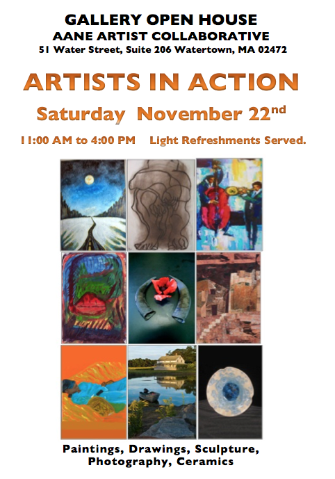 Artists In Action November 22nd Aane >> Our Prior Events Aane Artist Collaborative