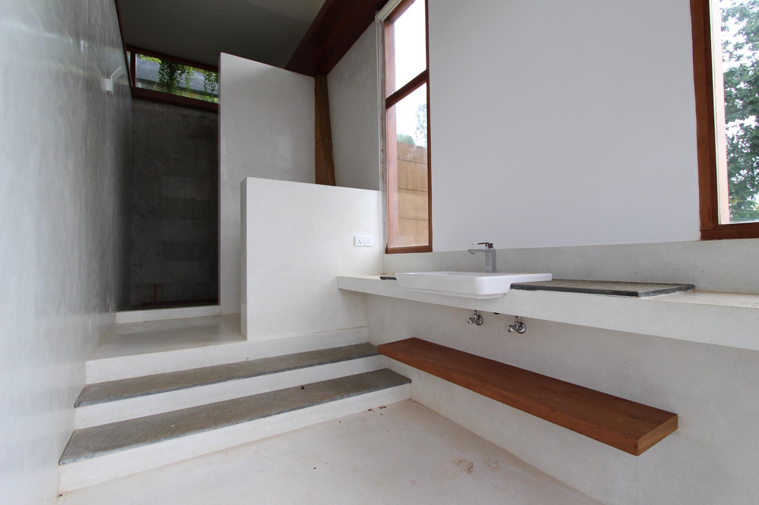 Sample Washroom finished in Suite 8