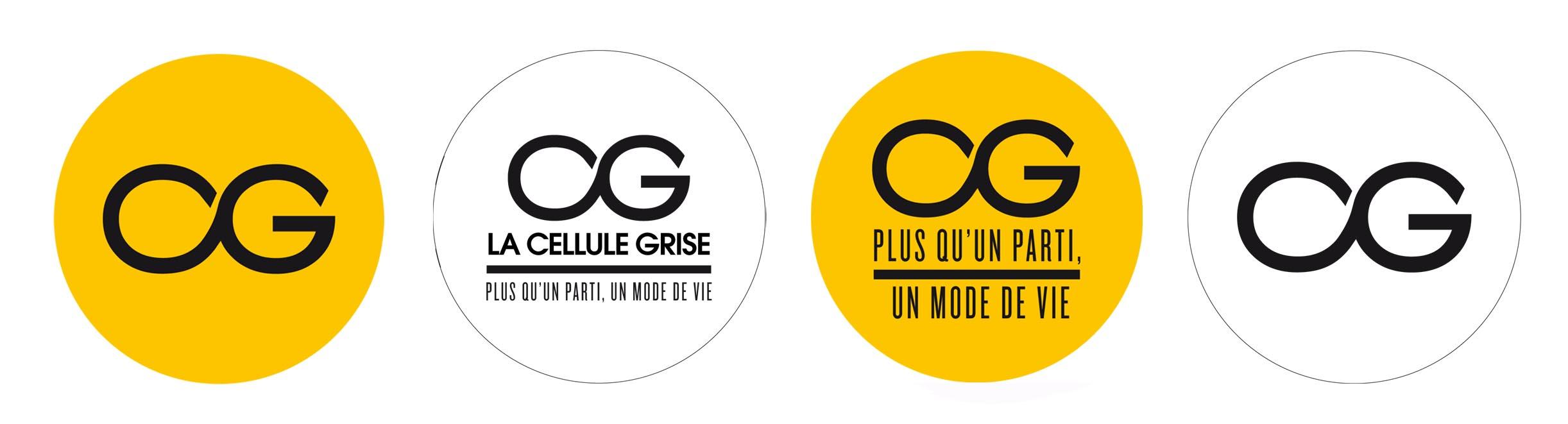 Pins de La Cellule Grise, un nouveau parti politique - www.marionchibrard.com