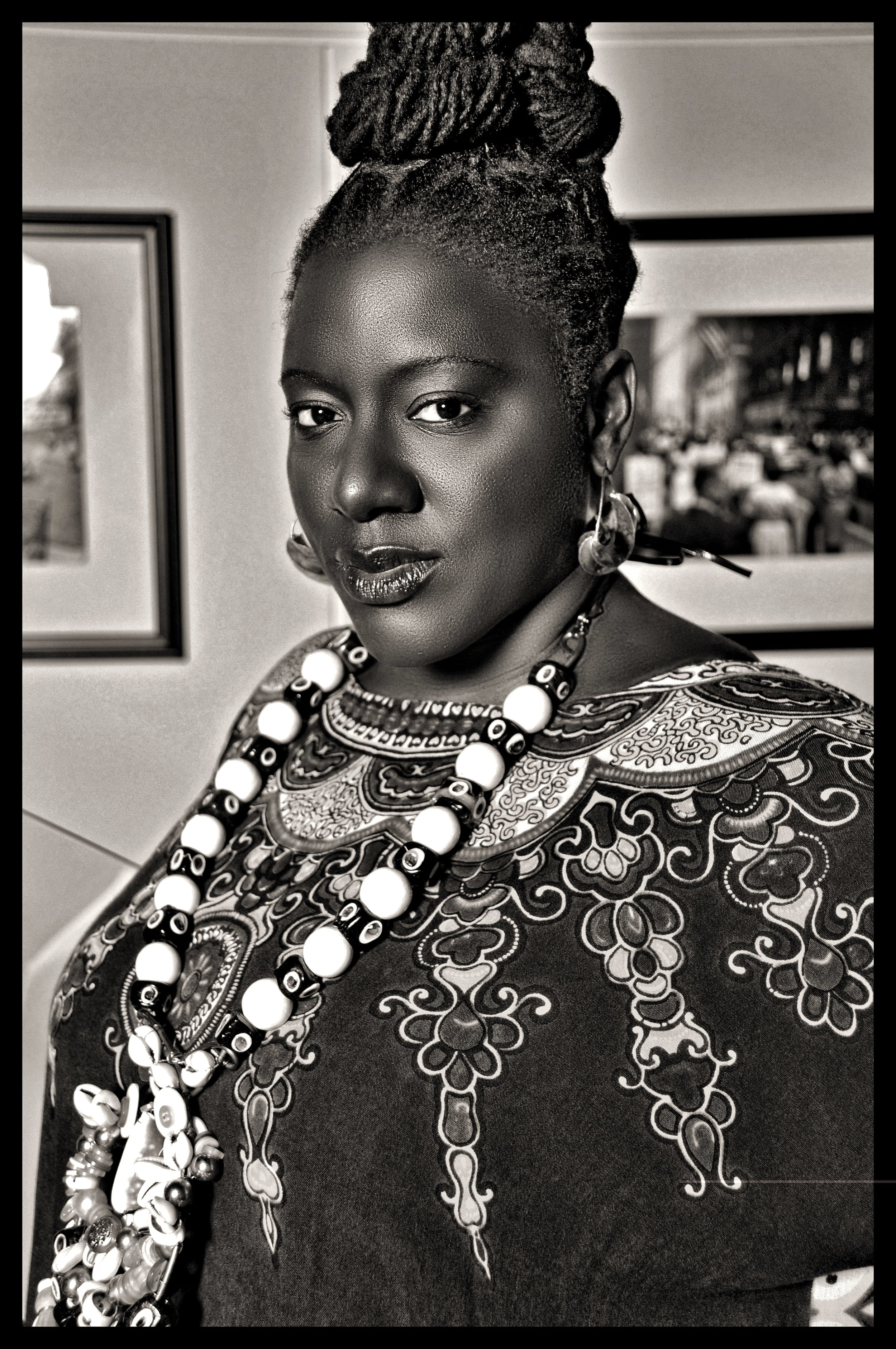 Photo of Tameka Cage Conley by Mario Epanya