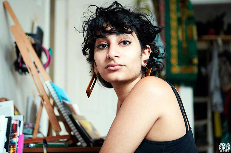 Photo of Fatimah Asghar by Jason Riker