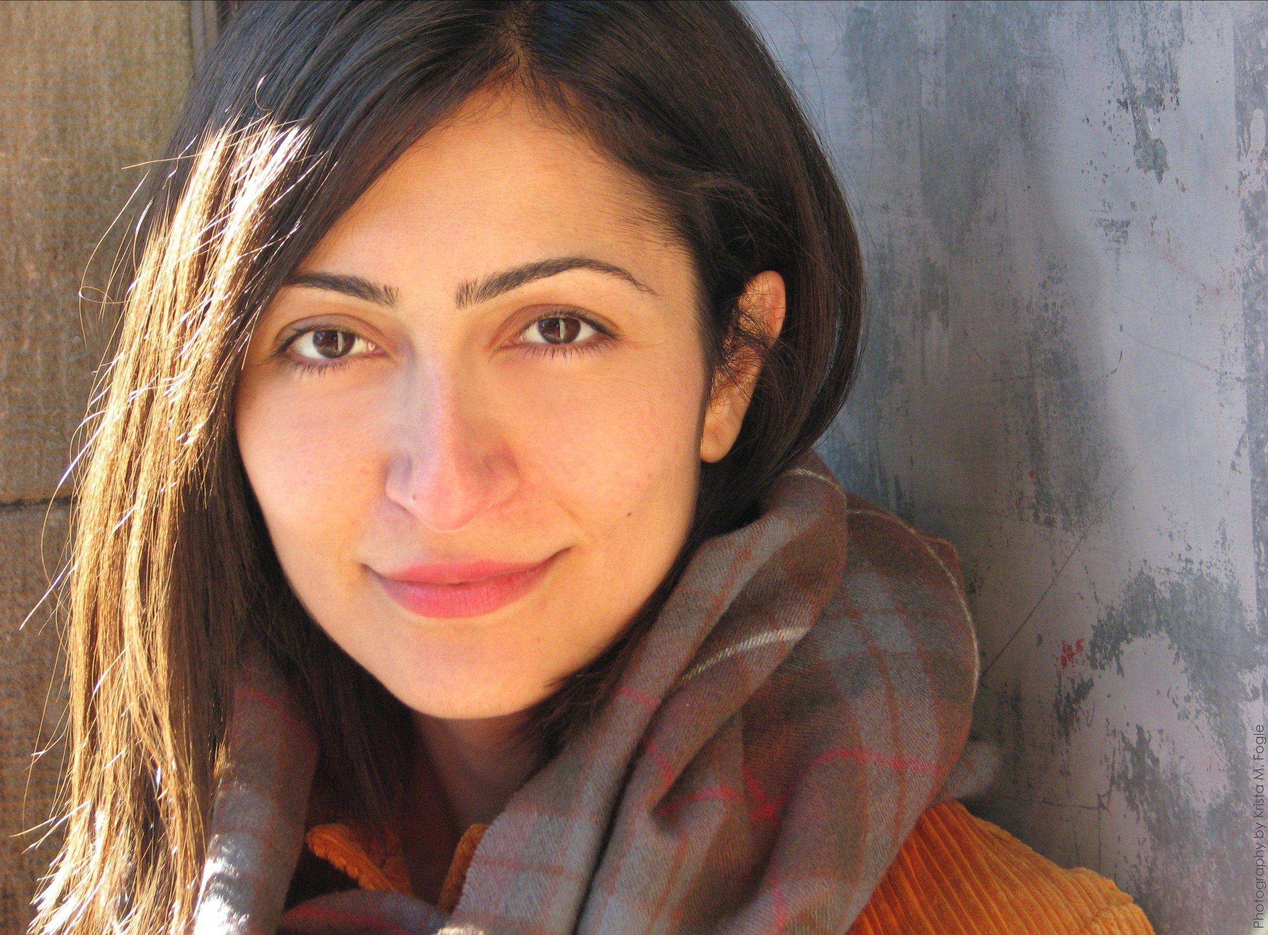 Photo of Sahar Muradi by Krista Fogle