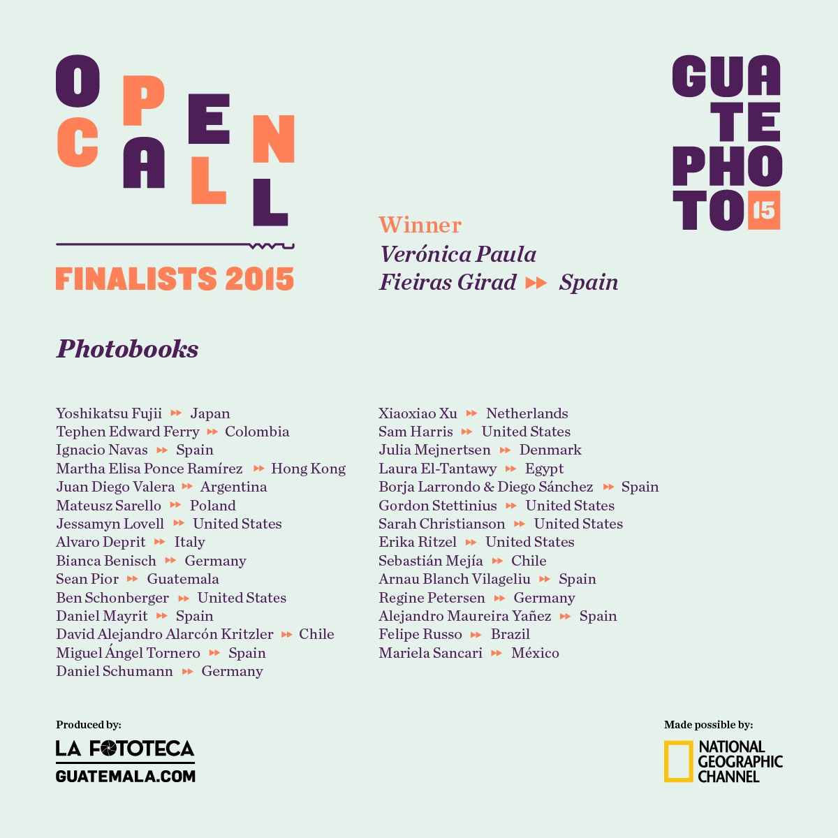 guatephoto 2015 announcement