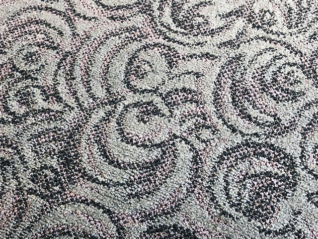 carpet pattern.