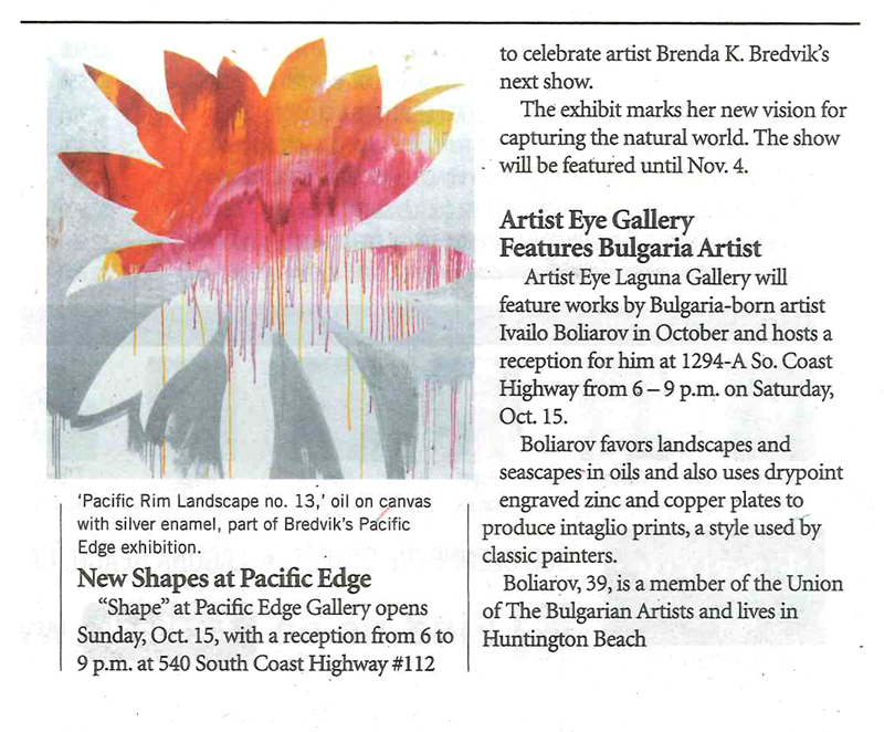 Laguna Independent, October 2011.