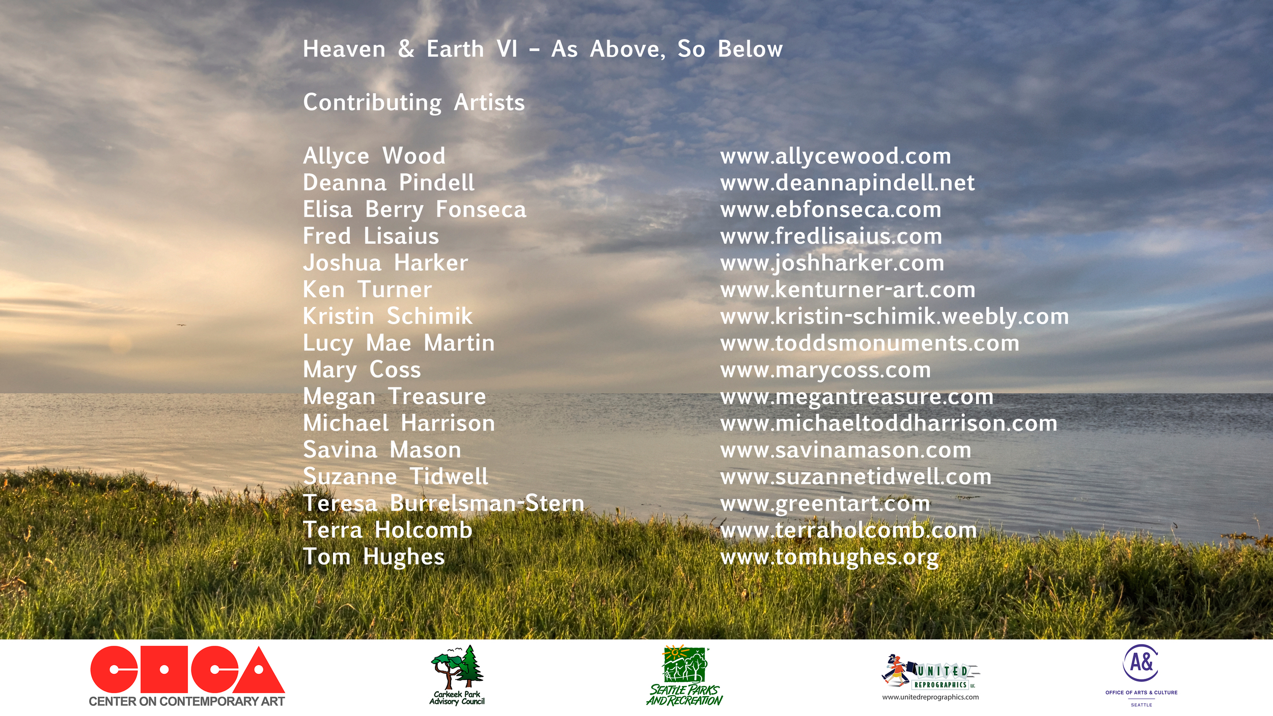 as above so below Artists 2014