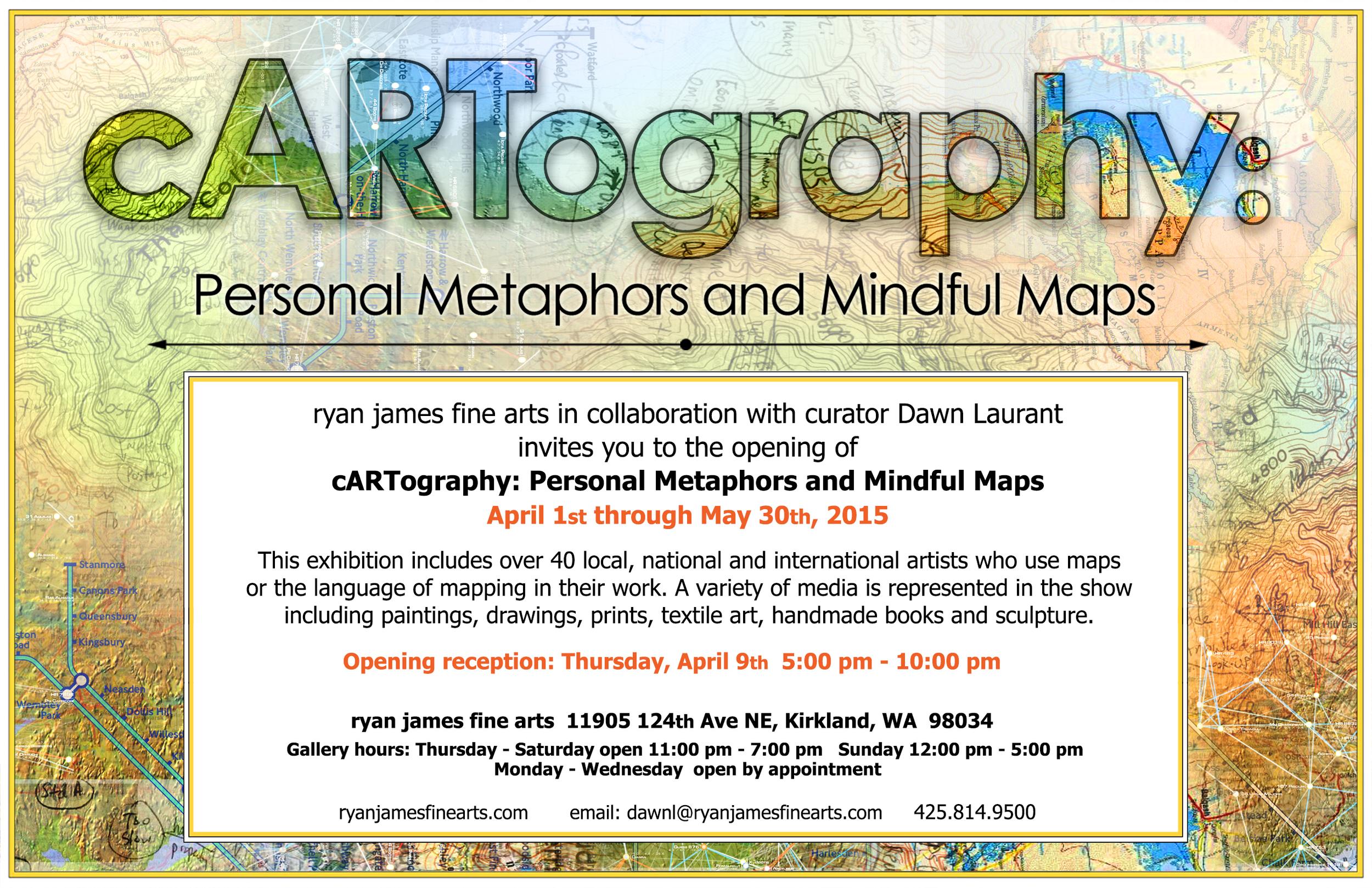 cARTography at Ryan James Fine Arts