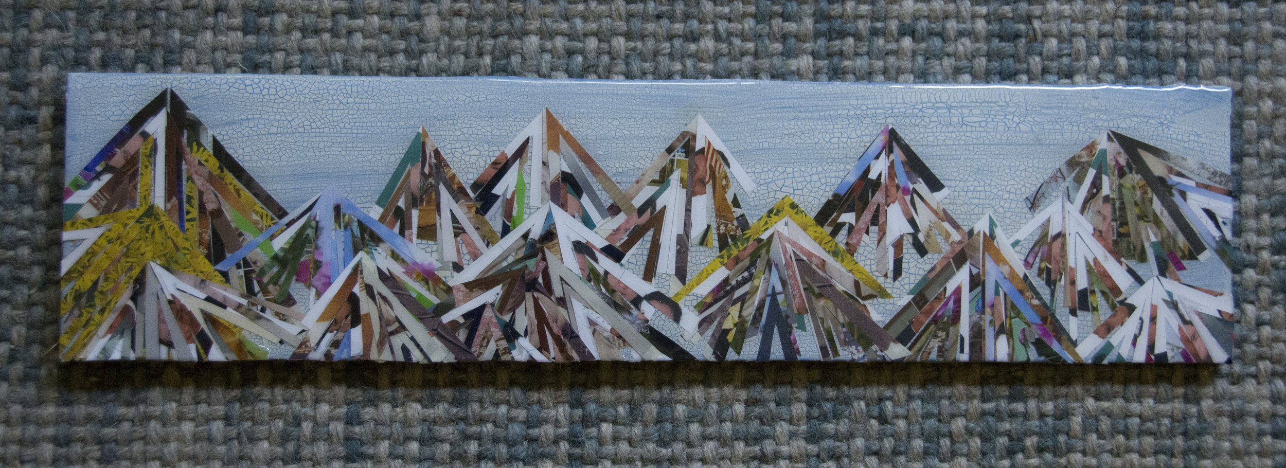 This MountainScape was a part of the  Unity Show at Bemis  and sold 2018