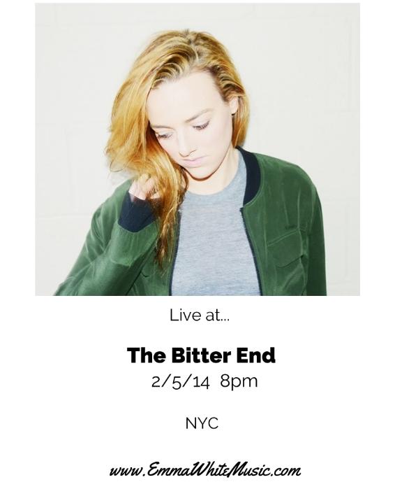 Emma Bitter End 2:5:14.jpg