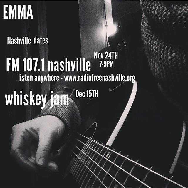 Nashville dates