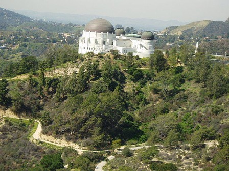 Griffith Park, one of the largest city parks in the world