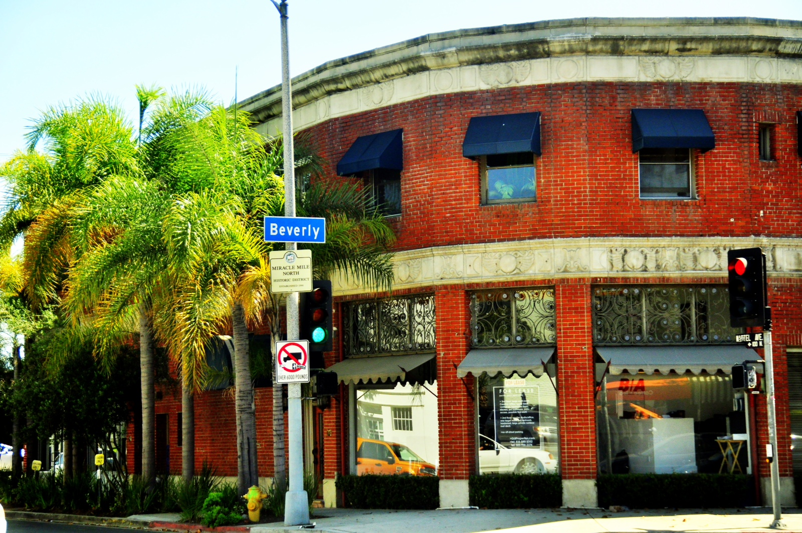 Landmark location at Beverly & Martel, near CBS TV, The Grove, Design District