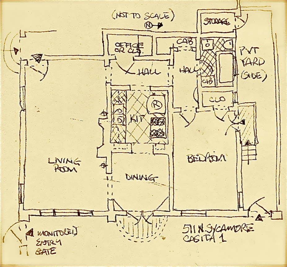 Excellent large floor plan
