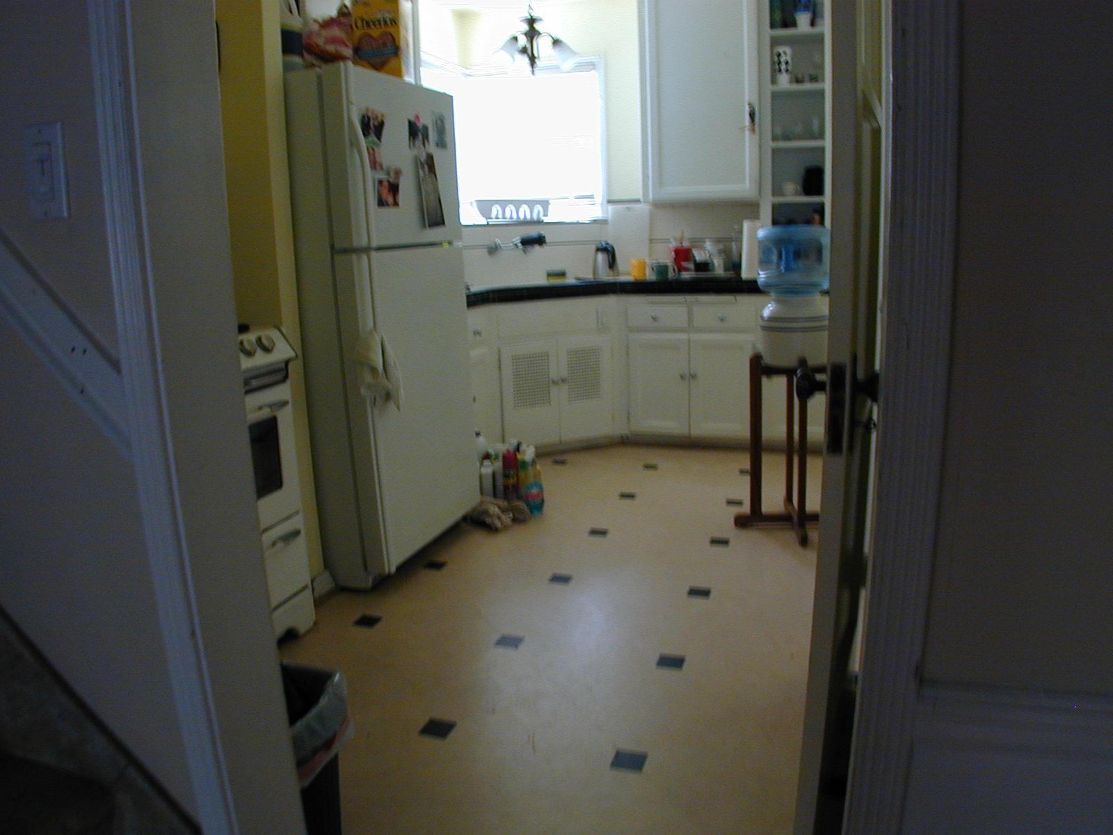 similar kitchen, not identical