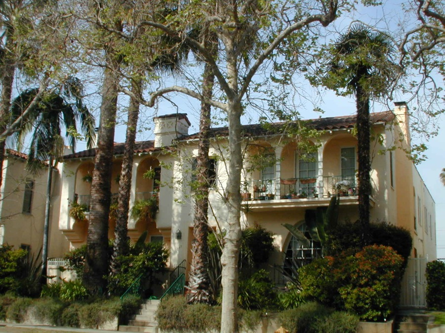 Casa Wooster, Pico/Robertson, upper right, 2 Bed/1 Bath @ $2,895