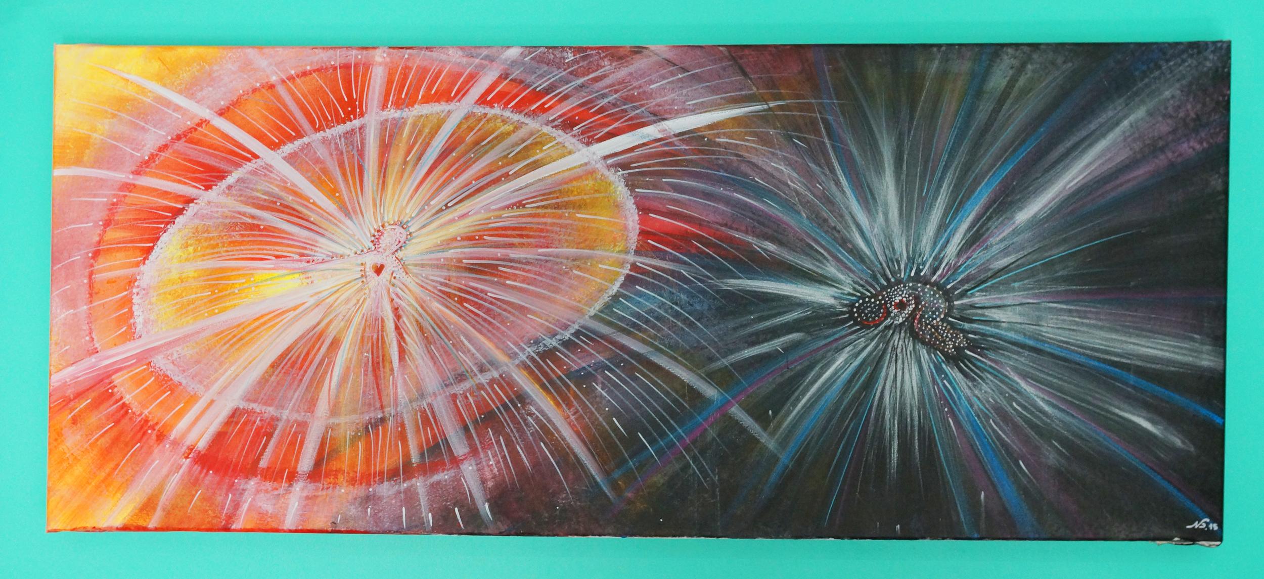 2ft x 4.5ft Acrylic on canvas