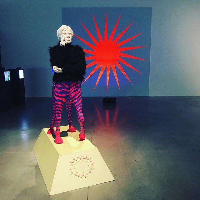 An exhibition about Polish rave culture and art in the 1990s at Muzeum nad Wisłã. The museum was co-designed by my good friends @kalataarchitekci #art #sztuka #muzeumsztukinowoczesnej #warszawa #warsaw #muzeumnadwisla