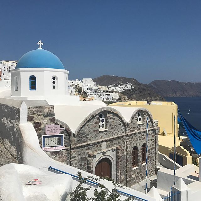 Santorini - a dream come true. A very swift visit, but the pictures remain. #santorini #oia #nofilternecessary