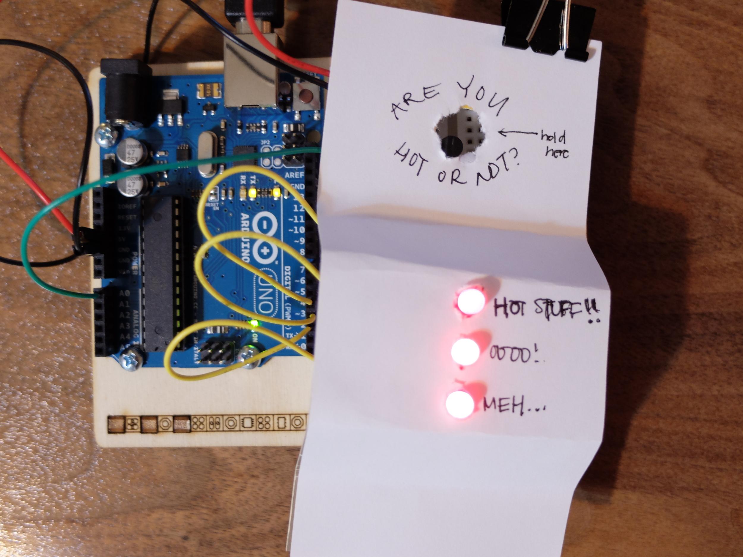 Heat sensor project
