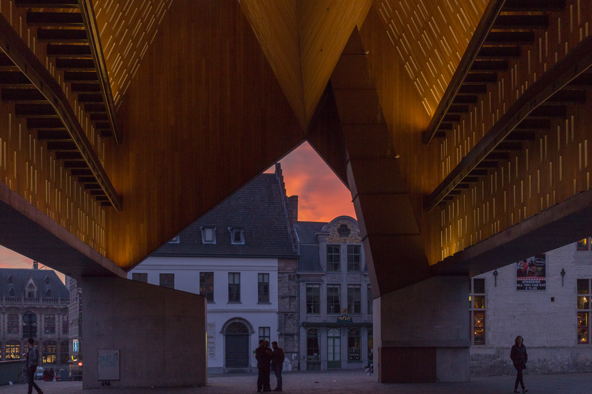 Ghent Sunset