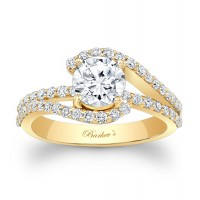 Yellow Gold Engagement Ring - 7848LYW