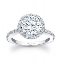 Halo Engagement Ring - 7839LW