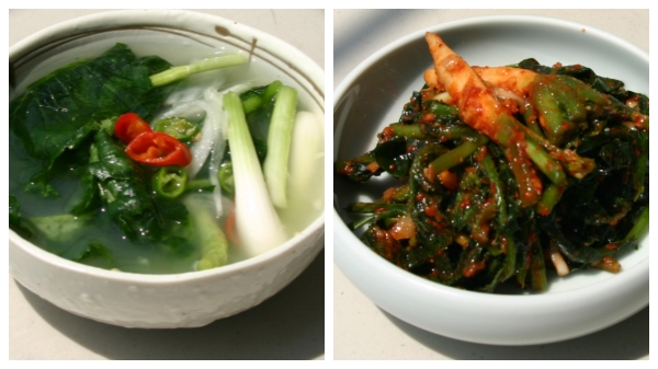 One kinds of Korean Kimchi,it looks like very delicious,are you agree with me??