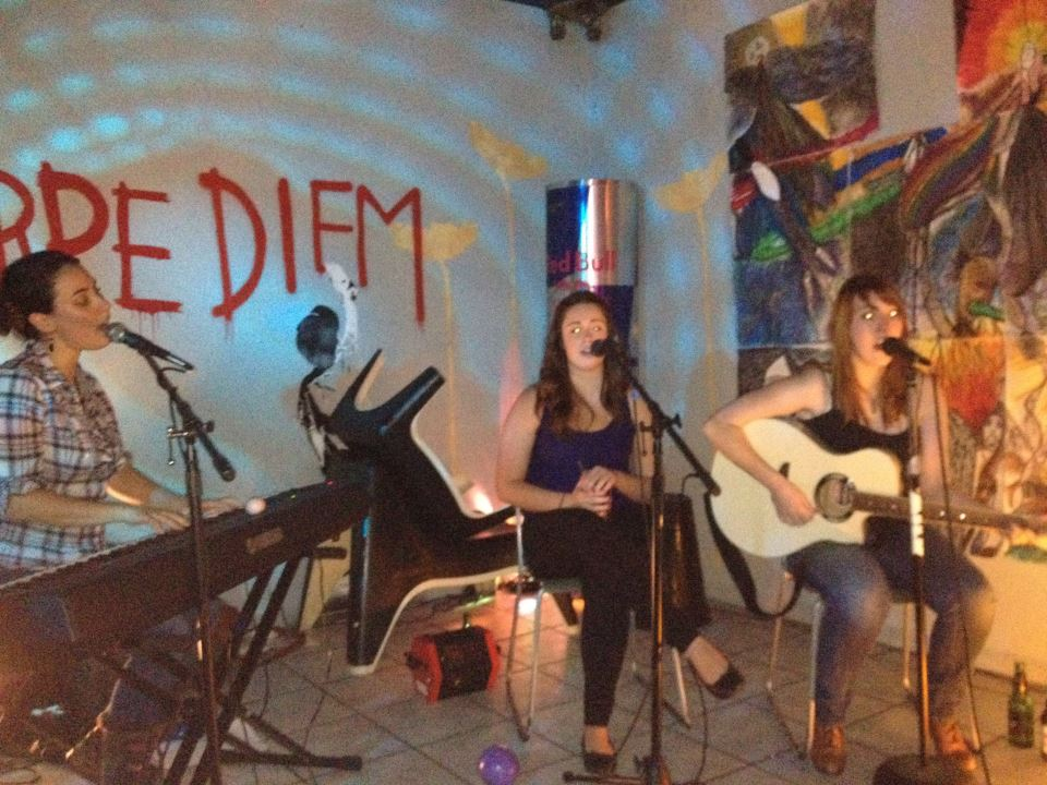 Playing at Milk with Jackie Robitaille and Livi