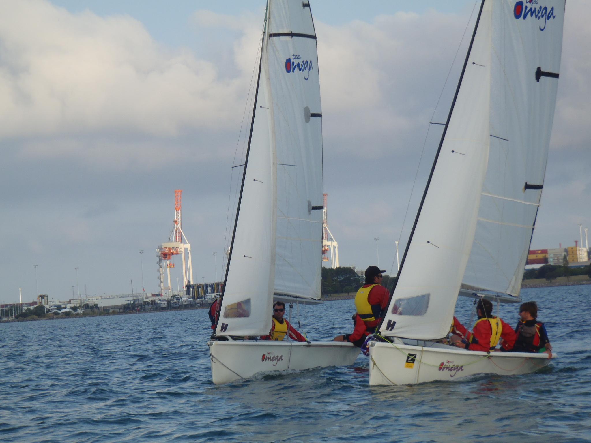 Corporate Event Omega Race