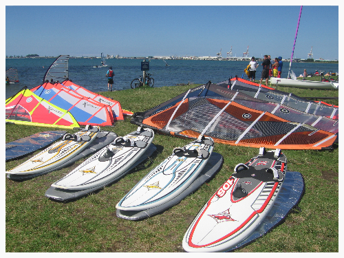 Hire Windsurf Kit from Elements Watersports