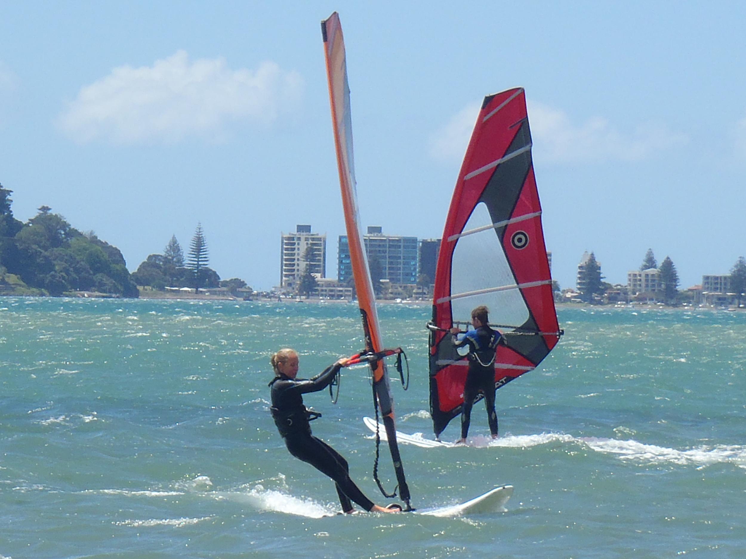 Learn to Windsurf in a weekend in Tauranga