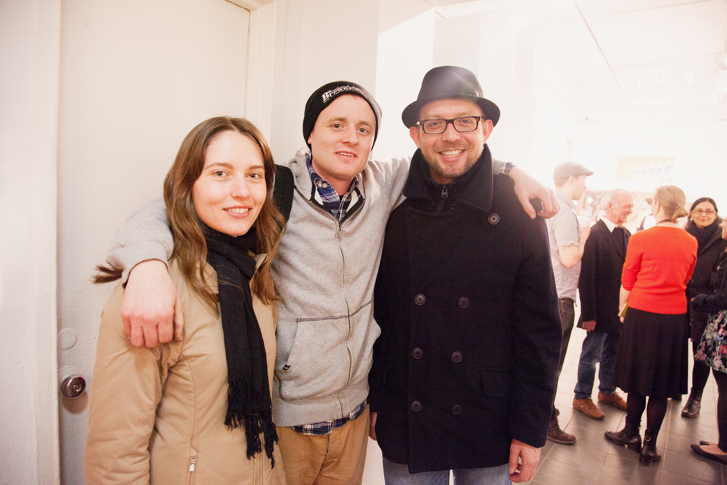 "Opening Reception for ""The Broadway Project"" MFA Illustration Group Show School of Visual Arts, NYC, 2013"